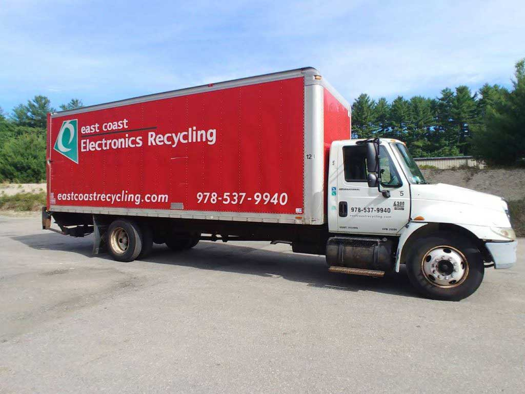 East Coast Electronics Recycling truck